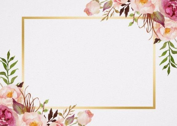 Fondo Blanco y flores