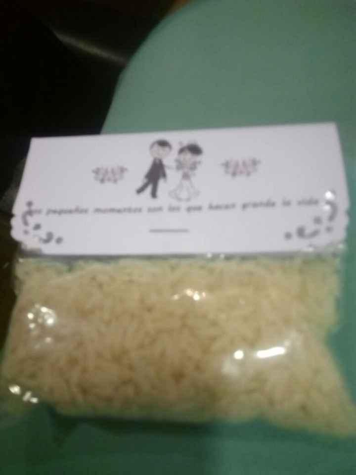 Bolsitas de arroz