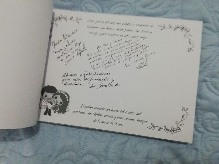 Nuestro libro de firmas 😊 3