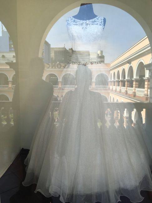 Vestido de novia alquiler estreno - 1