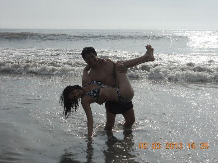 Día de playa con mi amor