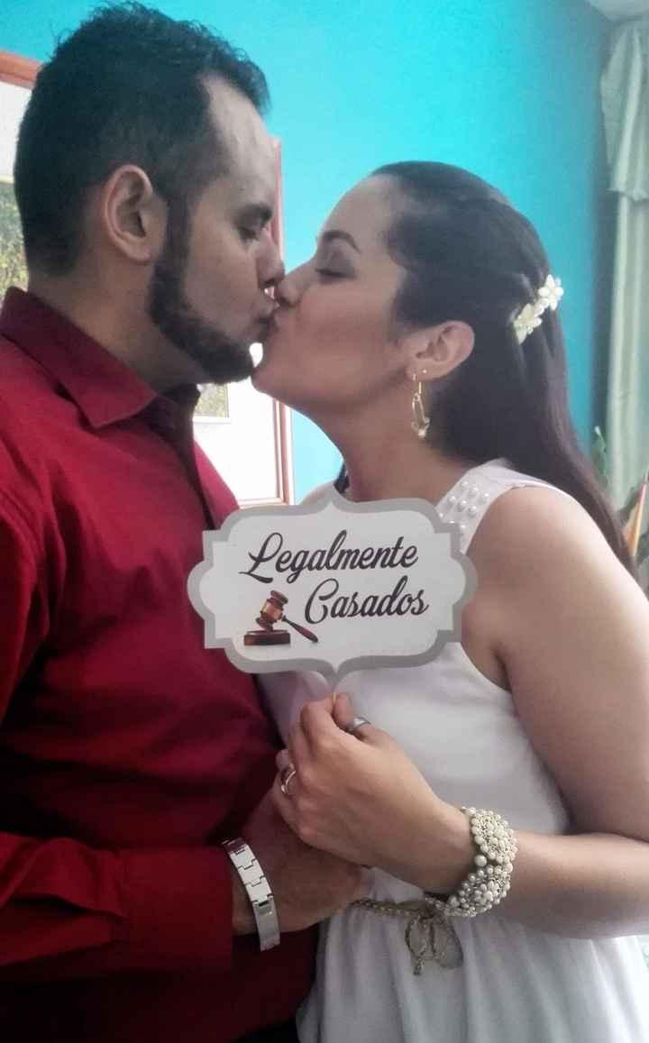 Legalmente Casados!!