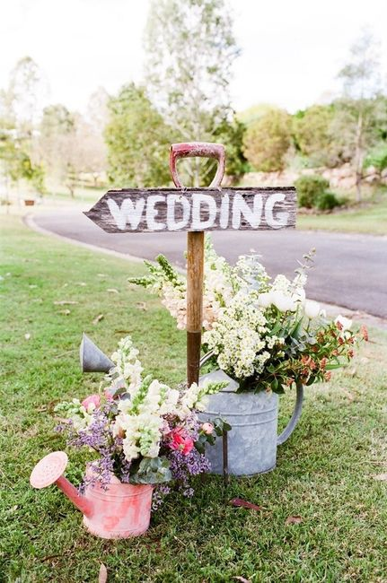 boda vintage al aire libre