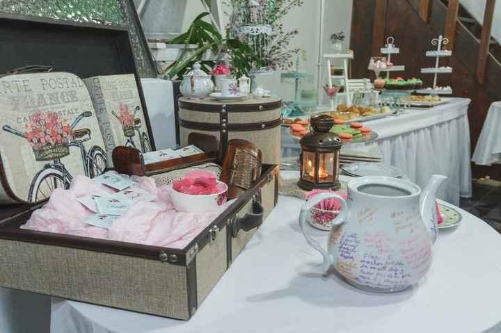 decoracion tea party bridal shower
