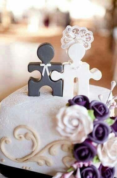 Muñecos de torta poco tradicionales - 1