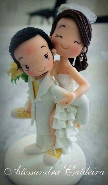 Muñecos de torta poco tradicionales - 4