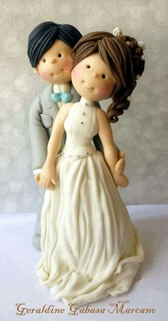 Muñecos de torta poco tradicionales - 5