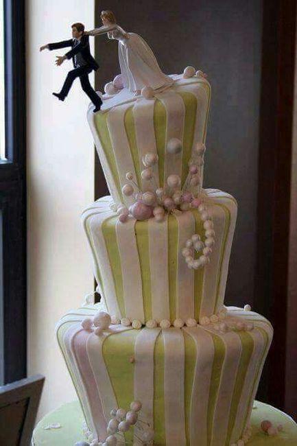 Muñecos de torta poco tradicionales - 9