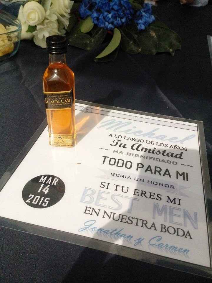 Invitación Caballeros de Honor