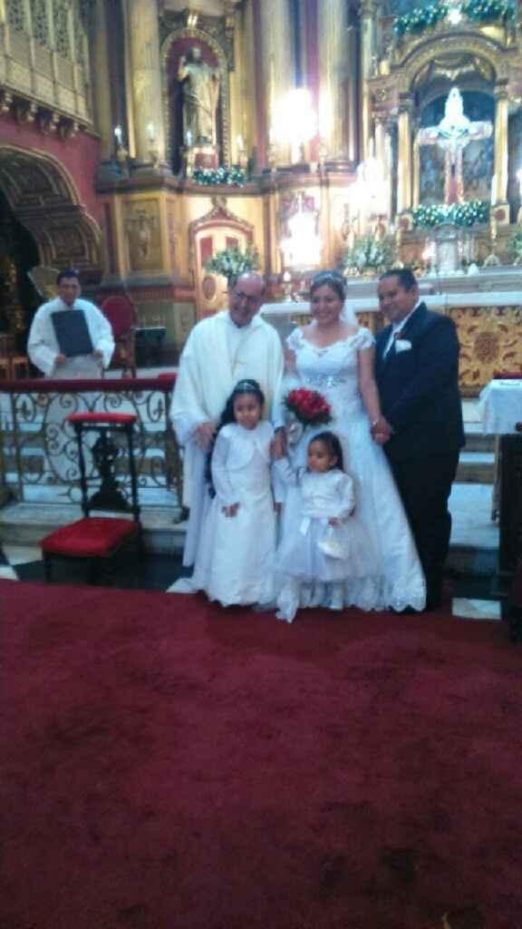 Casada con la bendición de dios... feliz!!!! - 1