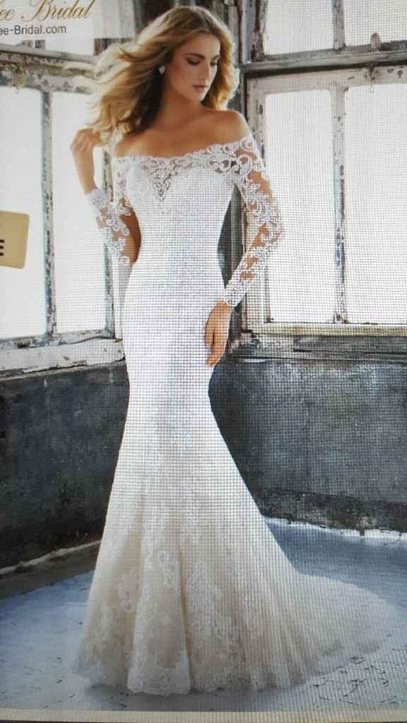 El vestido de novia que lleva tu nombre - 1