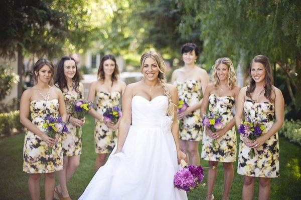 94c19481f93ac Vestidos de damas floreados