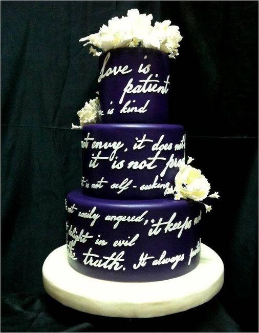 Cake Design Quotes : Ideas de torta: torta con frases