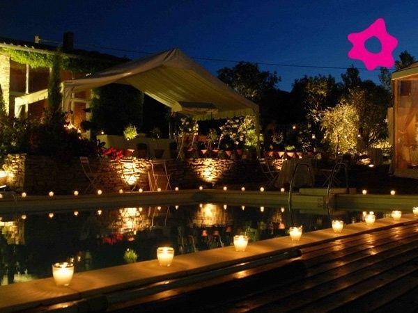 Ideas de boda con velas - Velas jardin ...