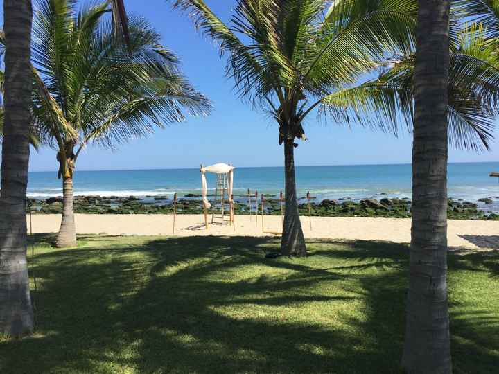 Boda en Playa - 2