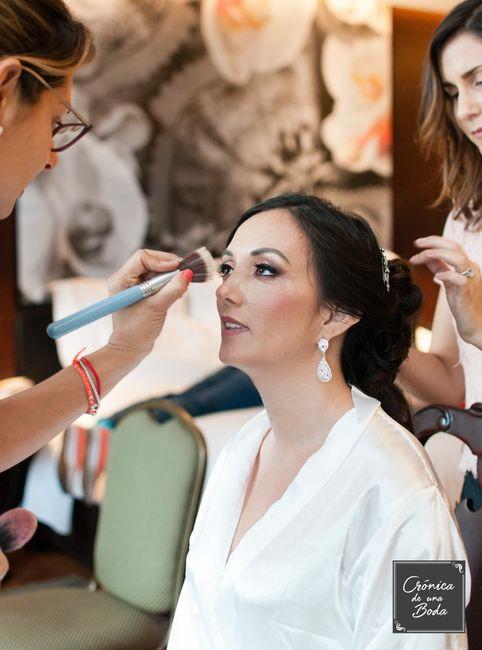 Recomendación sobre maquillaje y peinado 1