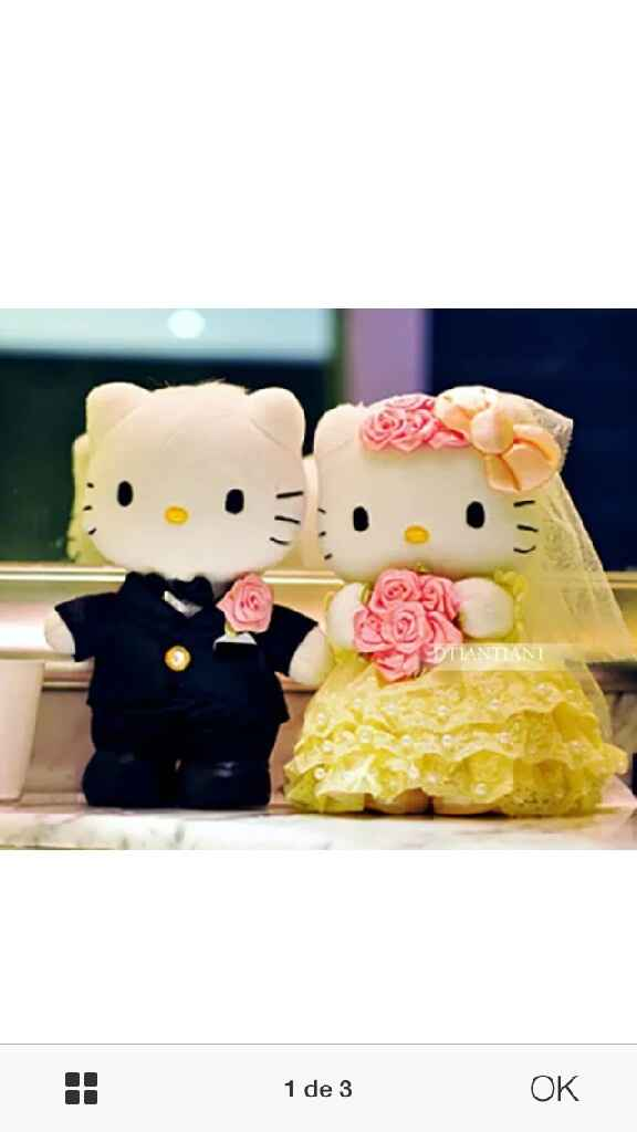 Novios hello kitty - 1