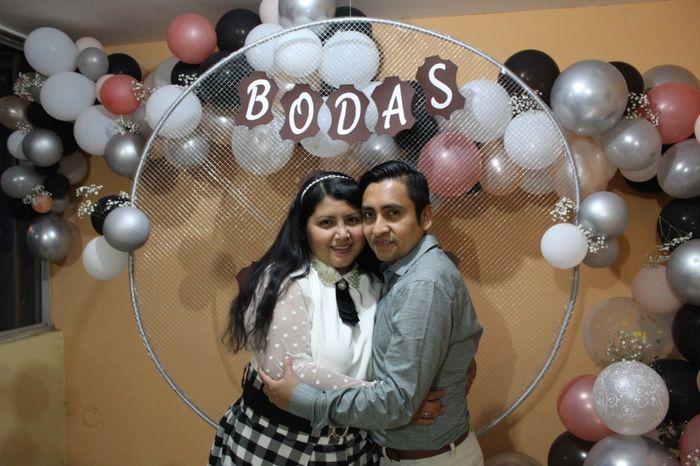 hoy celebro 3 Años de Casada. bodas de cuero 14