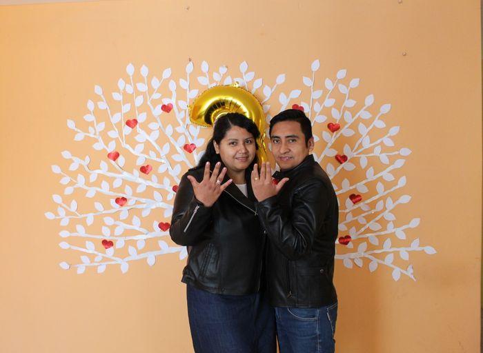 hoy celebro 3 Años de Casada. bodas de cuero 22
