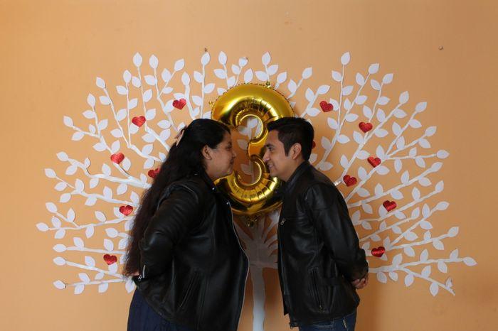 hoy celebro 3 Años de Casada. bodas de cuero 23