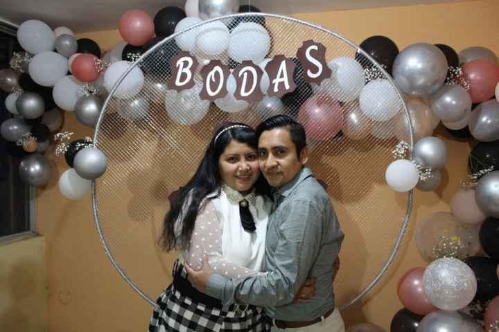 hoy celebro 3 Años de Casada. bodas de cuero - 14
