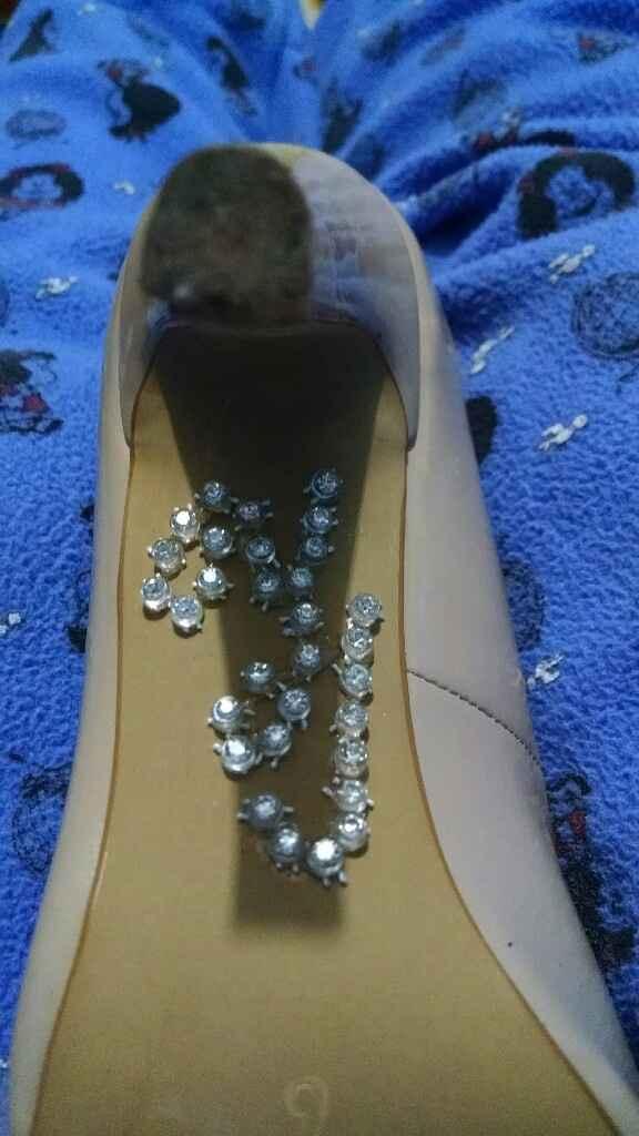 Zapatos personalizados yj - 1