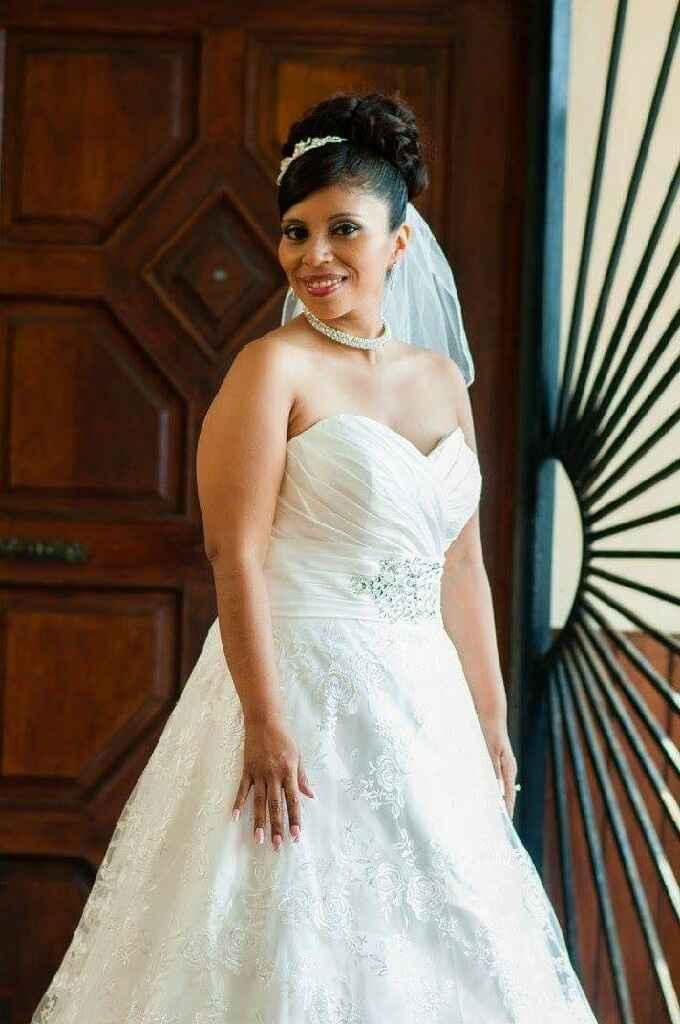 Mi vestido de novia comprado por internet. - 1
