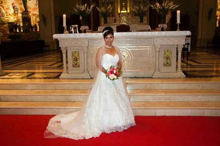 Mi vestido de novia comprado por internet. - 2