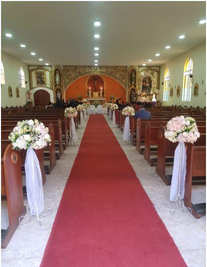 Horario de ceremonia en la Iglesia 1
