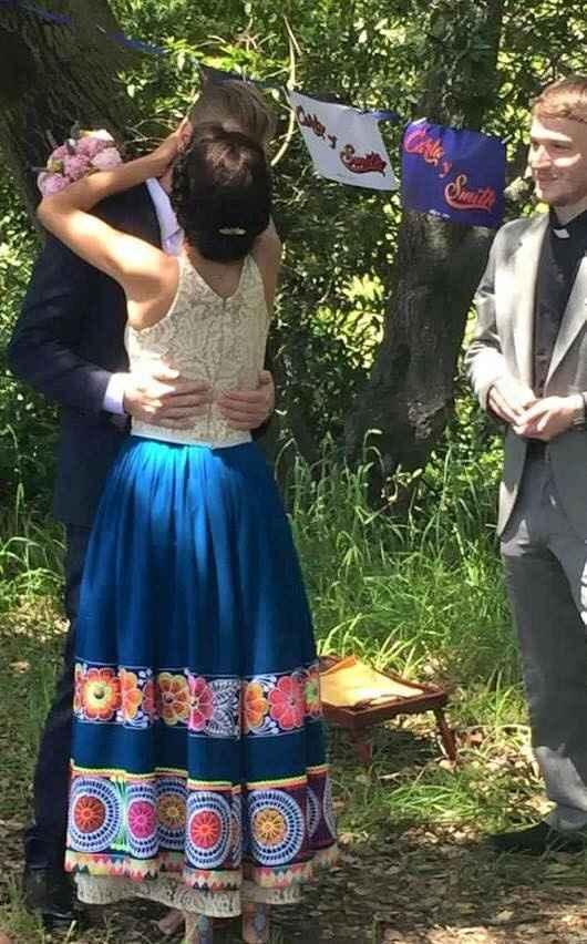 Pollera de novia
