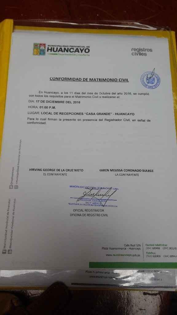 Certificado municipal
