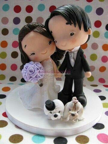 ¿La novia de tu cake topper se parece a ti? - 1