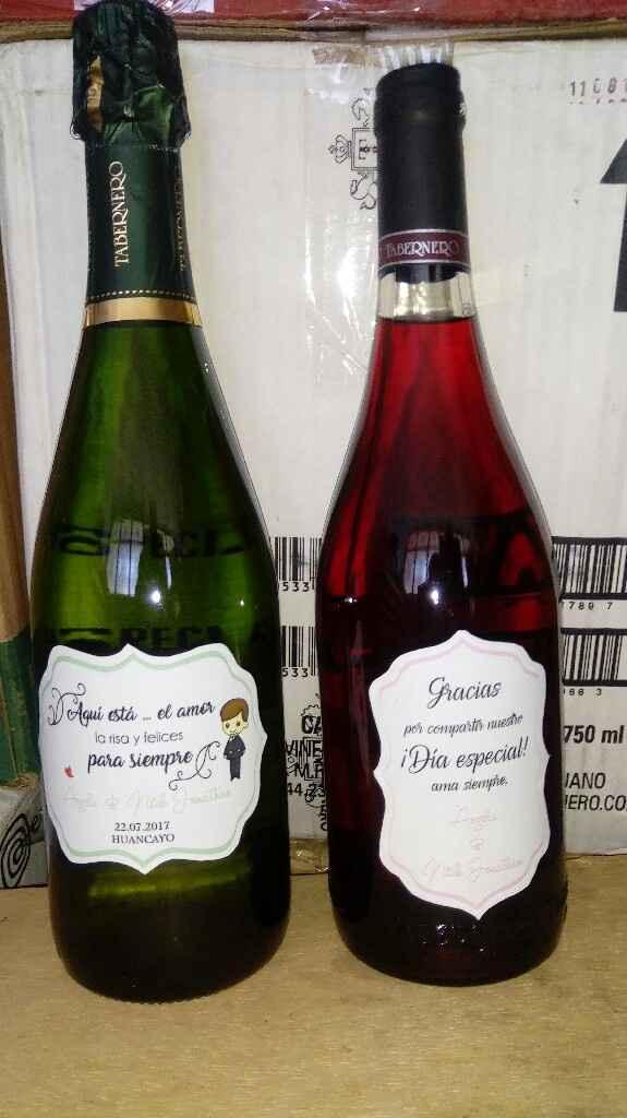 Botellas personalizadas - 1