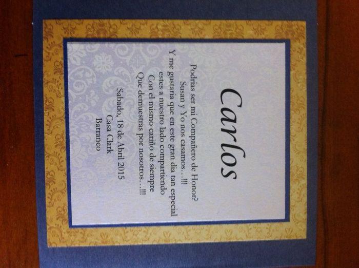 Invitaciones para las damas de honor - 6