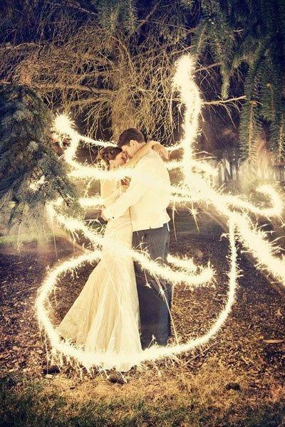 10. Lightpainting para dar un toque romántico