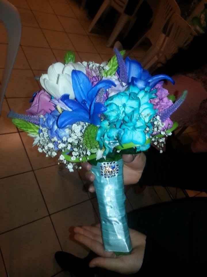 Hermoso modelo de bouquet