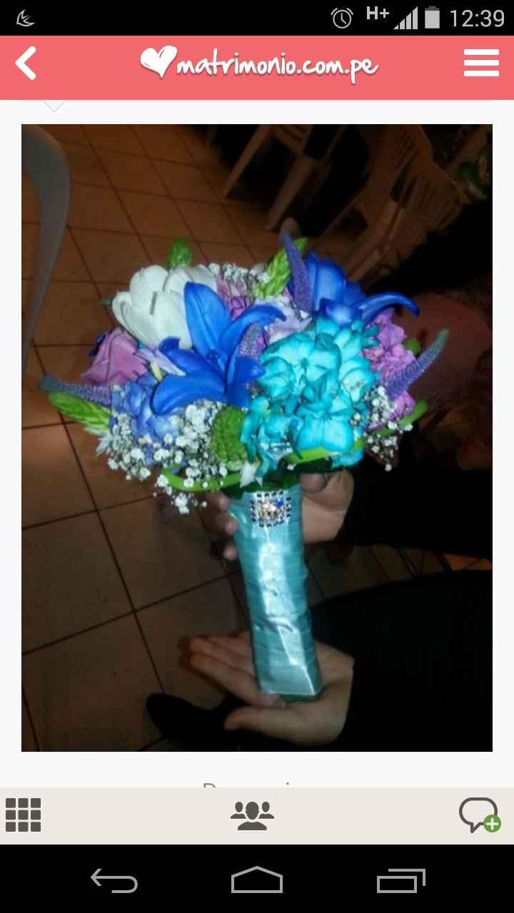 Bouquet de colores o de un sólo color - 1