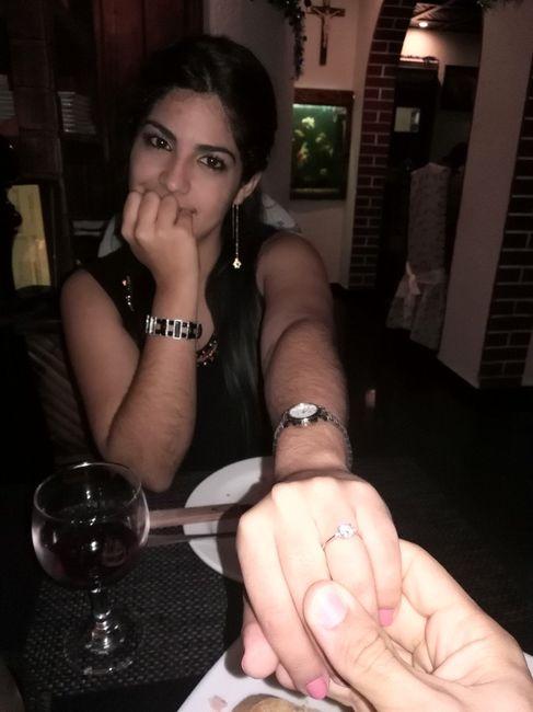 Mi anillo de compromiso!!!!