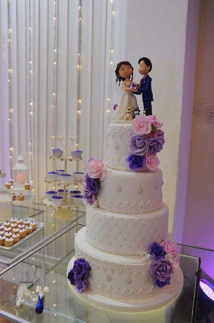 Torta de boda 7