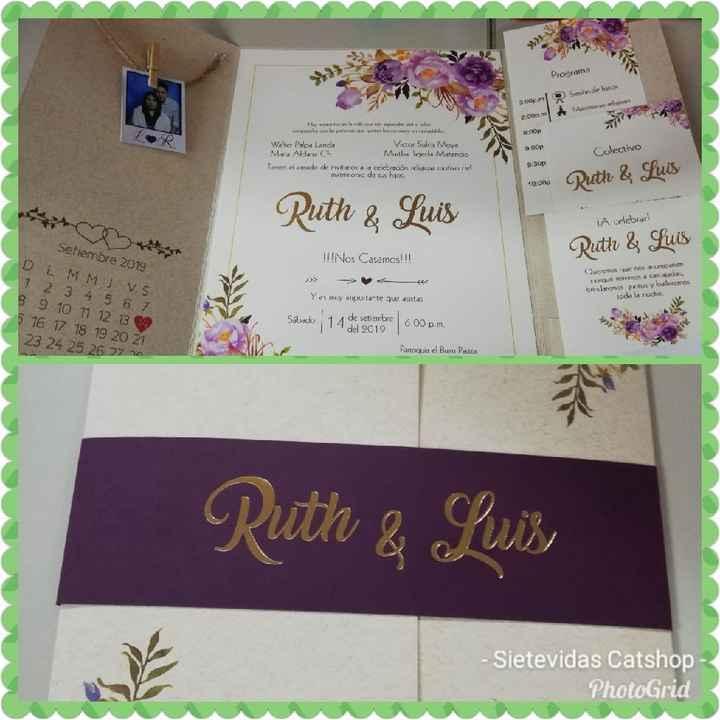 tarjeta de invitacion - 1