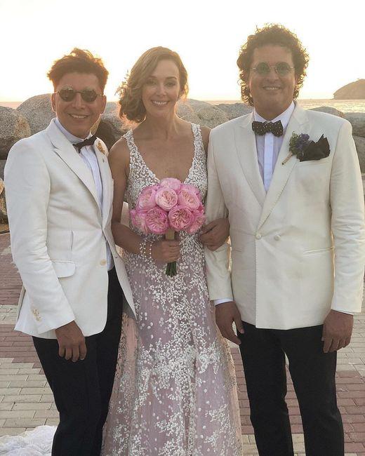 La renovación de votos de Carlos Vives y Claudia Elena 💍 'Amor eterno' 2