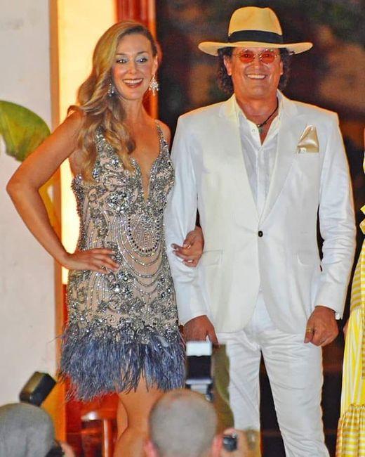 La renovación de votos de Carlos Vives y Claudia Elena 💍 'Amor eterno' 3