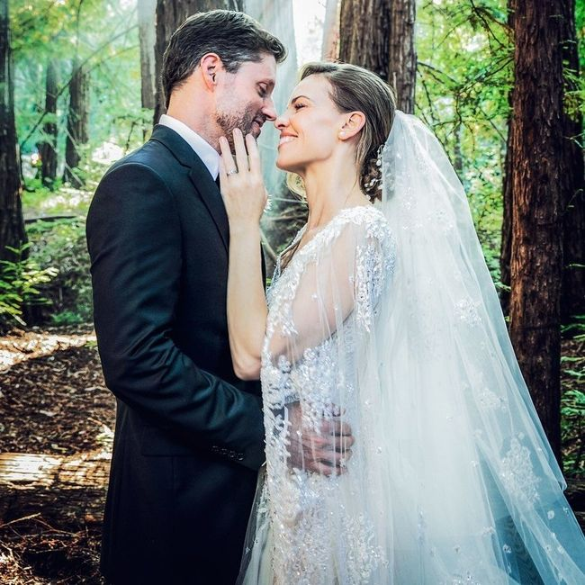 El matrimonio de Hilary Swank VS el de 2Chainz: ¿Con cuál te quedas? 1