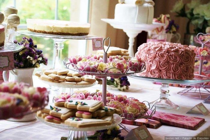 ¿Cuál de estas mesas de dulce te gusta más? 1