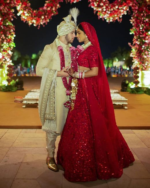 ¿Tendrías un matrimonio indio como el de Priyanka Chopra y Nick Jonas? 13