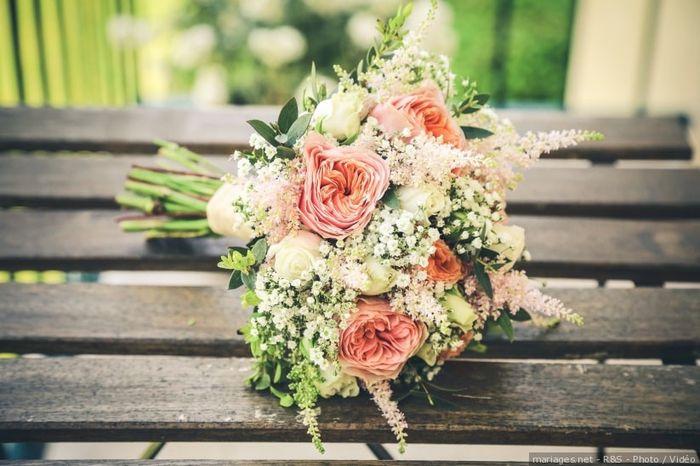 2 matrimonios, 2 bouquets. ¿Cuál prefieres? 2