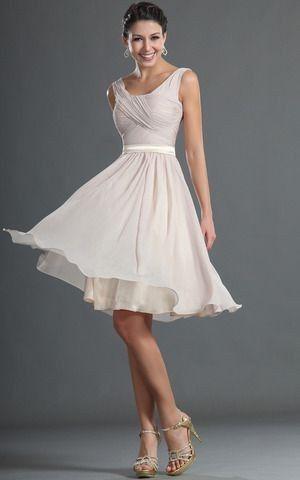 Vestidos de novia hasta la rodilla, ¿así o más largo? 3