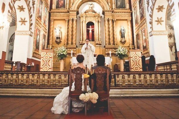 ¡La ceremonia! ¿Elegante o Vintage? 1