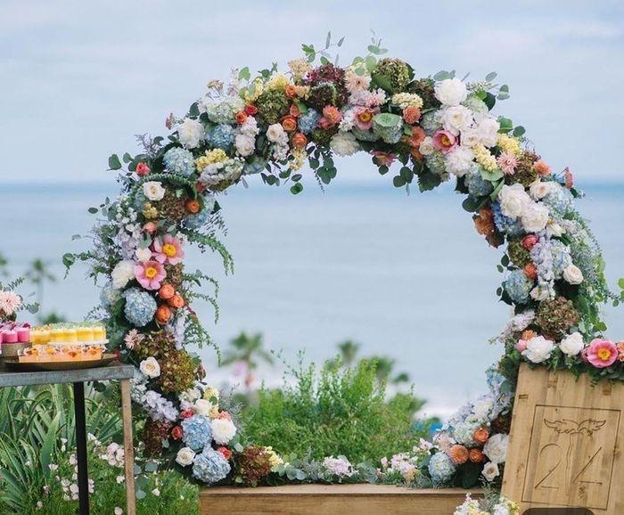 💘 Me enamora este arco de flores 1