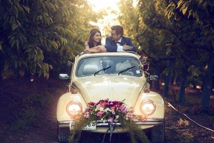 💘 Me enamora este auto de novios 3